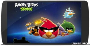 Angry Birds Space v2.1.1 (Mod Power-Ups)