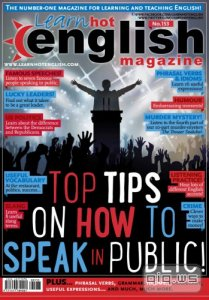 Hot English Magazine Issue 153 (February 2015) + Audio