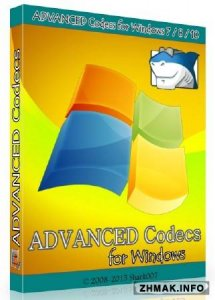 ADVANCED Codecs for Windows 7 / 8 / 10 5.09