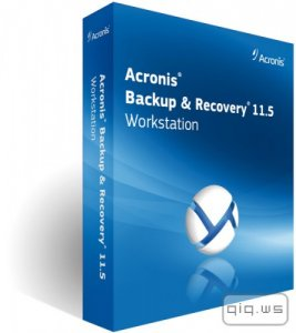 Acronis Backup Workstation / Server 11.5.43916 + Universal Restore (2015/RUS)