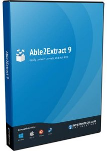 Able2Extract PDF Converter 9.0.9.0