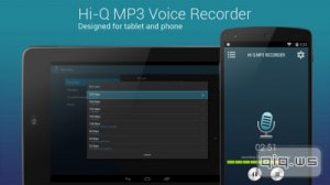 Hi-Q MP3 Voice Recorder Pro v2.0.1 (Android)