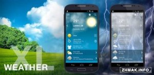 Weather XL Pro v1.3.0 [Proper/Rus/Android]