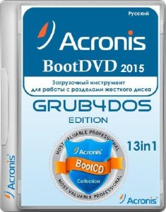 Acronis BootDVD 2015 Grub4Dos Edition v.31 13in1 (2015/RUS)