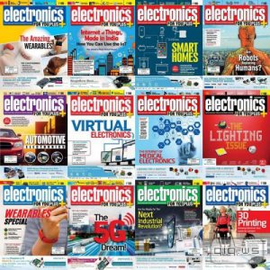 Electronics For You №1-12 (January-December 2015). Архив 2015