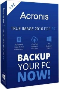 Acronis True Image 2016 19.0 Build 6027 Final