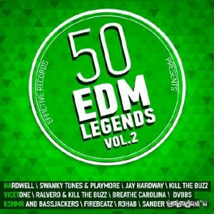 50 EDM Legends Vol.2 (2015)