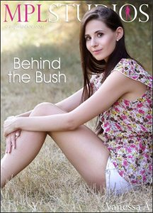 MPLStudios : Vanessa A - Behind the Bush