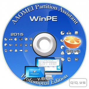 AOMEI Partition Assistant 6.0  Professional Edition WinPE (ML/RUS)