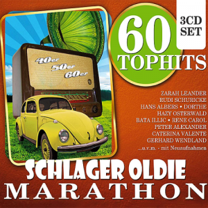 60 Top Hits (Schlager Oldie Marathon) 3CD (2015)