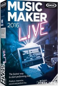 MAGIX Music Maker 2016 Live 22.0.3.63 + Русификатор