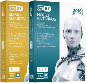 ESET Smart Security / NOD32 Antivirus 9.0.377.1 Repack by SmokieBlahBlah