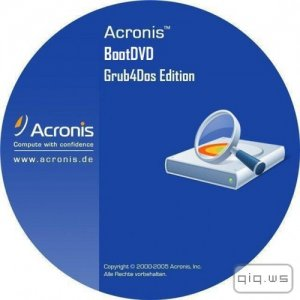 Acronis BootDVD 2016 Grub4Dos Edition v.41 (6/2/2016) 13 in 1