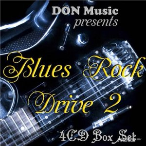 VA - Blues Rock Drive 2 [4CD] (2016) FLAC