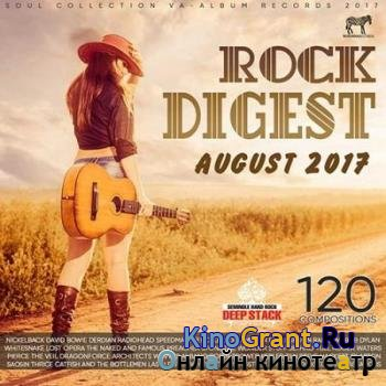 VA - August Rock Digest (2017)