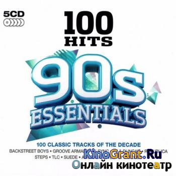 VA - 100 Hits - 90s Essentials (5CD) (2013)