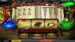 Лаборатория старого химика в игровом автомате онлайн Alchemist Lab в казино Вулкан