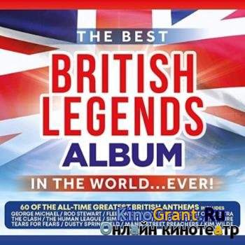 VA - The Best British Legends Album In The World...Ever! (3CD) (2020)
